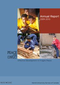 WUSC Annual Report 2010 Cover