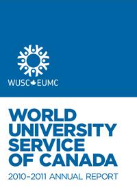 WUSC Annual Report 2011 Cover