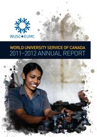 WUSC Annual Report 2012 Cover