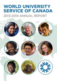WUSC Annual Report 2014 Cover